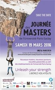 Journées des Masters de l'Université Paris-Saclay